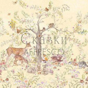 Фото фрески Affresco Fairytales SN611-COL4