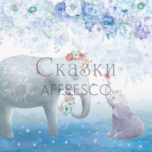Фото фрески Affresco Fairytales SN658-COL1