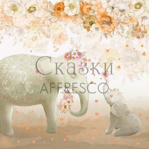 Фото фрески Affresco Fairytales SN658-COL2