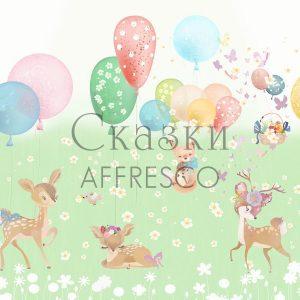 Фото фрески Affresco Fairytales SN665-COL1