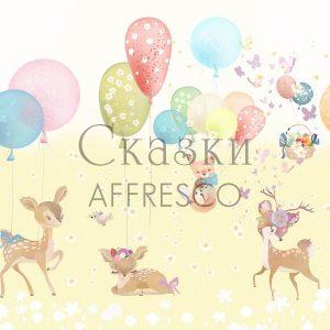 Фото фрески Affresco Fairytales SN665-COL3