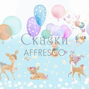 Фото фрески Affresco Fairytales SN665-COL4