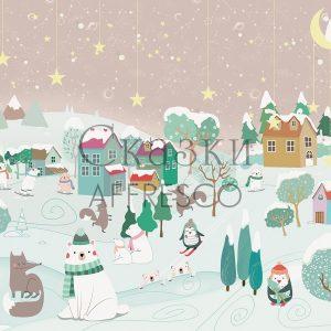 Фото фрески Affresco Fairytales ZK608-COL4