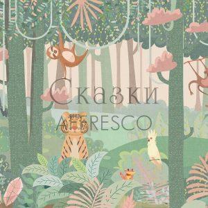 Фото фрески Affresco Fairytales ZK617-COL1