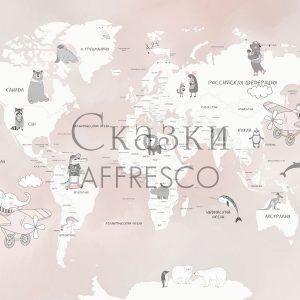 Фото фрески Affresco Fairytales ZK626-COL1