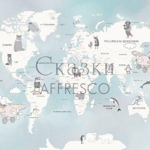 Фото фрески Affresco Fairytales ZK626-COL3