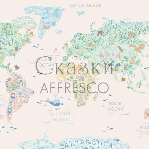 Фото фрески Affresco Fairytales ZK627-COL2