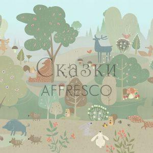 Фото фрески Affresco Fairytales ZK633-COL1