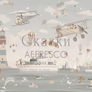Фото фрески Affresco Fairytales ZK640-COL2