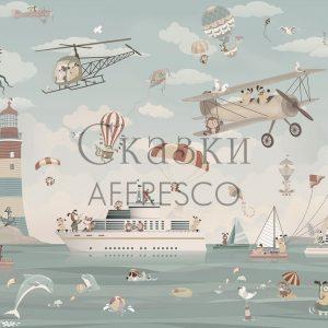 Фото фрески Affresco Fairytales ZK640-COL3