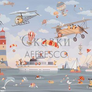 Фото фрески Affresco Fairytales ZK640-COL4