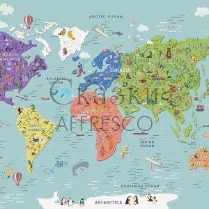 Фото фрески Affresco Fairytales ZK642-COL1