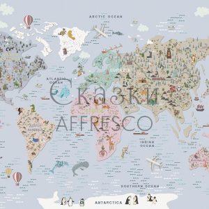 Фото фрески Affresco Fairytales ZK642-COL2