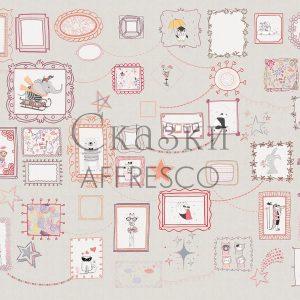 Фото фрески Affresco Fairytales ZK674-COL3