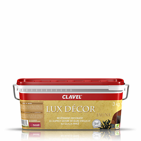 Фото банки товара CLAVEL LUX DECOR JAUNE