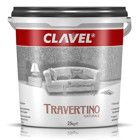 Фото банки товара CLAVEL TRAVERTINO NATURALE